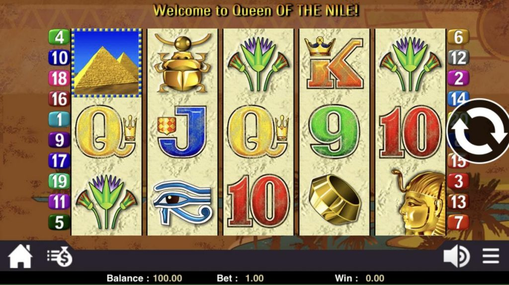 Queen Of The Nile รวย